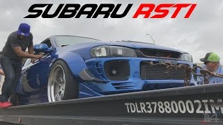 SUBARU RSTI FULLY BUILT 650 WHP DOES TWO PULLS BEFORE SHUTTING DOWN