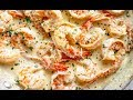 Creamy Garlic Parmesan Shrimp