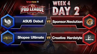 RoV Pro League Presented by TrueMove H : Week 4 Day2