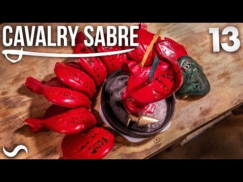 MAKING THE CAVALRY SABRE: Part 13
