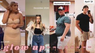 weight loss transformation  glow up tiktok compilation