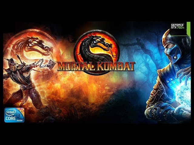 Mortal Kombat 9 - I3 3250 + Gtx 750ti - Full Hd