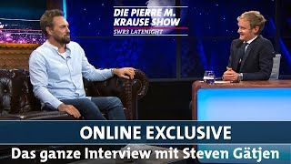 Pierre M. Krause interviewt Steven Gätjen
