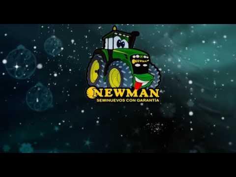 Felicitación Navidad y año nuevo 2017 Tractor Newman