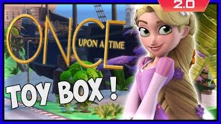 Disney Infinity 2 - Storybrooke Toy Box Gameplay (once Upon A Time)