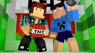 Minecraft : DENTRO DE UM CREEPER !! - Aventuras Com Mods #54