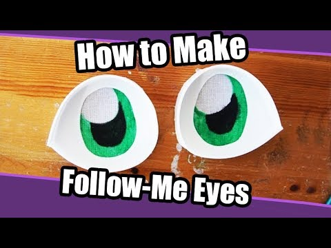 //Tutorial #4// Follow Me Eyes for Fursuits + PDF Template