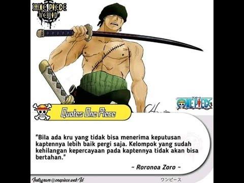 Kata Kata Bijak And Santuy One Piece Youtube