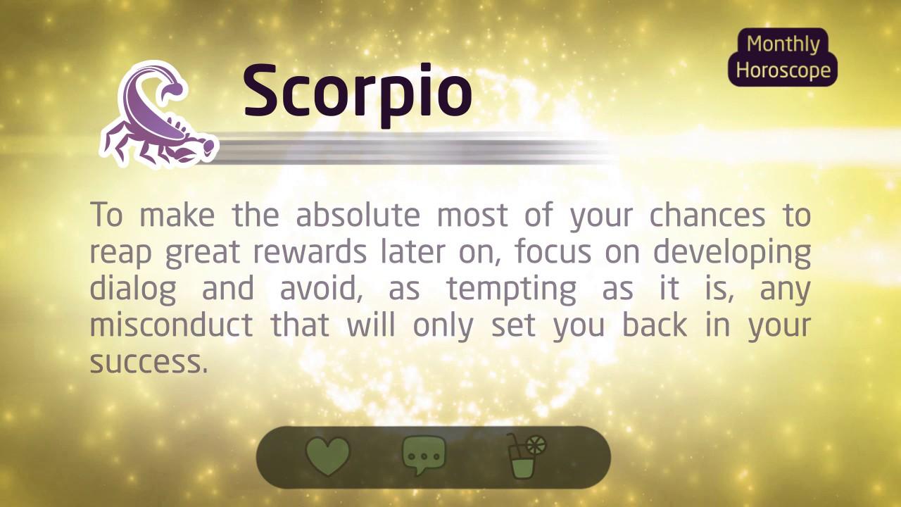 scorpio horoscope 2017 youtube