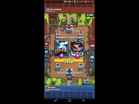 How To Use the New Goblin Cage Card Clash royal 2019
