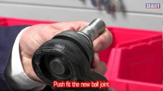 sealey vse127h05 ball joint removal installation adapter set