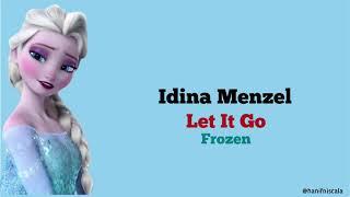 Idina Menzel - Let It Go / Frozen   Lirik Terjemahan