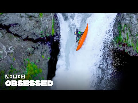 How This Guy Kayaks Over Massive Waterfalls | Obsessed | WIRED