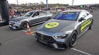 Brabus B63 S Mercedes E63 AMG Videos