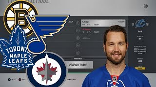 What it Would Take These 8 Teams to Trade for Rick Nash NHL 18