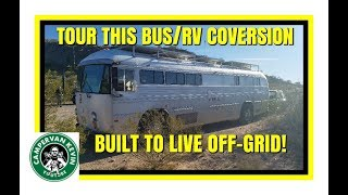 "OFF GRID ""CROWN JEWEL"" OF A BUS/RV CONVERSION!"