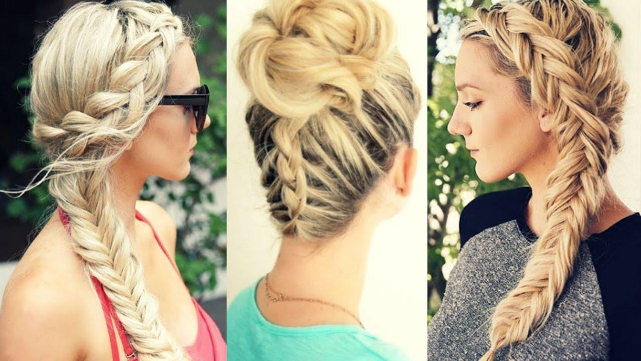 Peinados faciles de moda trenzas 2017 braids hairstyles - Peinados actuales de moda ...