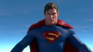 Christopher Reeve with 'Superman Returns' Suit