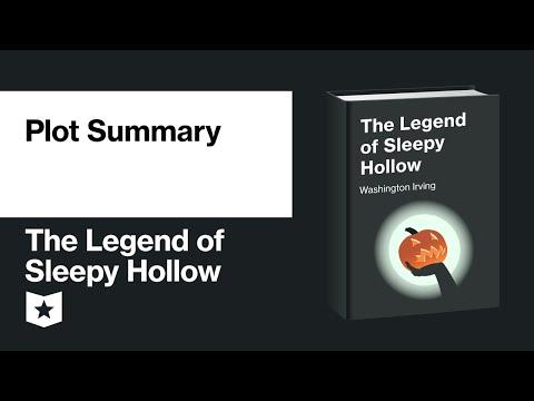 The Legend Of Sleepy Hollow By Washington Irving   Plot Summary