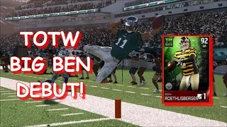 Madden 15 Ultimate Team   Big Ben's Nearly Flawless Debut!   Mut 15
