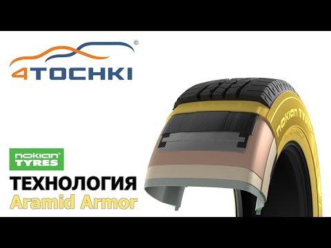 Nokian Tyres - технология Aramid Armor
