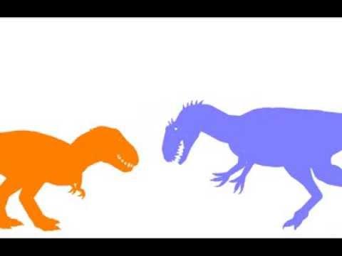 Allosaurus vs  Lythronax