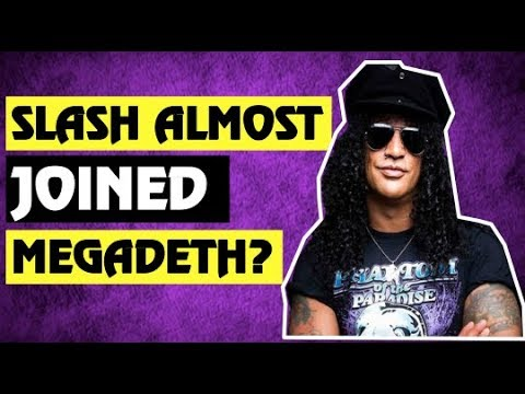 Guns N' Roses: True Story Behind Megadeth and GNR & How Slash Almost Joined Megadeth!
