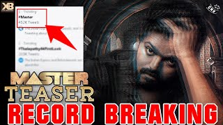 Master Teaser Record Breaking – Vijay Fans Mass Trending | Master Theatre Celebration Begins