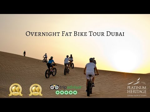 Fat Bike Desert Camping Tour Dubai – Overnight Bike Safari
