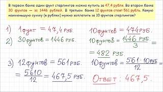 Задача 3 (В4) № 77358 ЕГЭ-2015 по математике. Урок 19