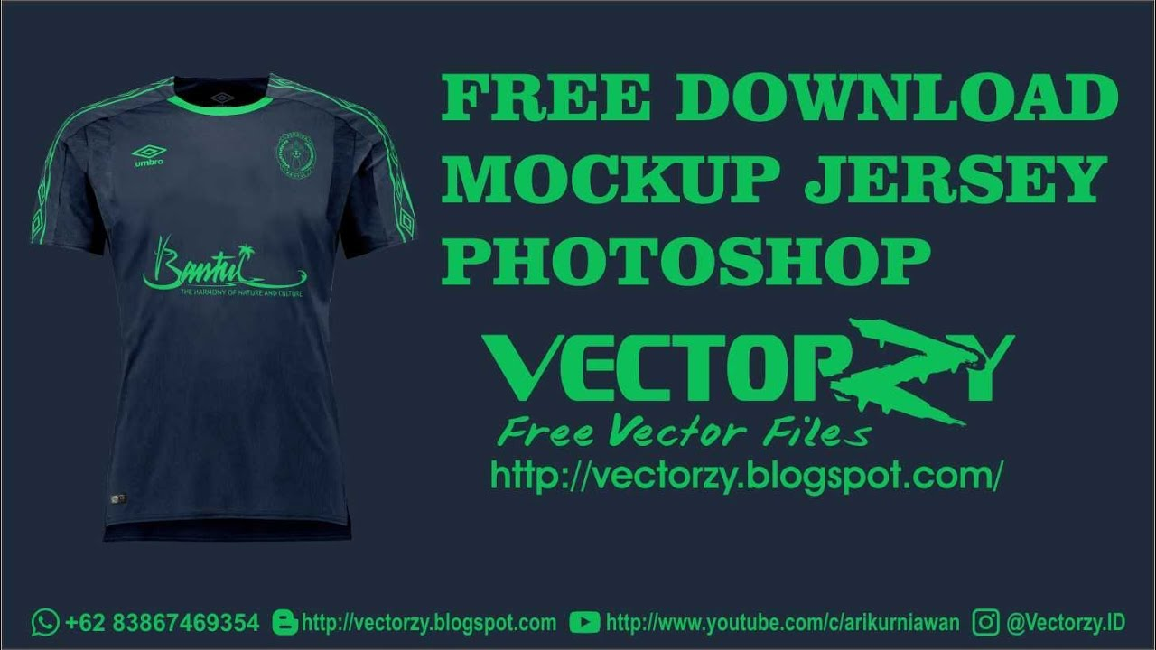 Free Download Mockup Jersey Football Psd Photoshop Youtube