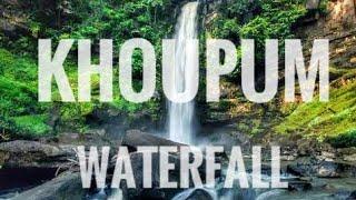 Khoupm Waterfall Manipur   Tv 59   Imphal Traveller