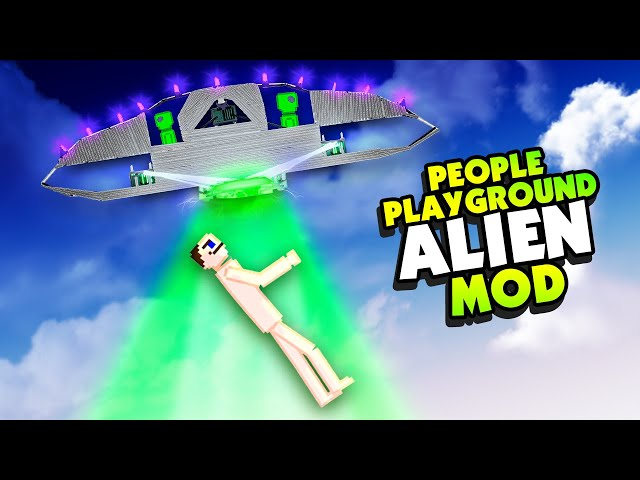 ALIEN UFO Does TERRIBLE Things to HUMANS - People Playground