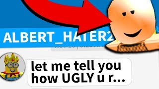 Roblox man calls me ugly... then I did THIS..
