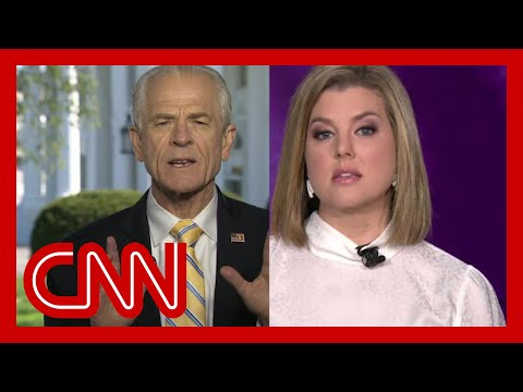 Keilar to Peter Navarro: You are wasting everyone's time