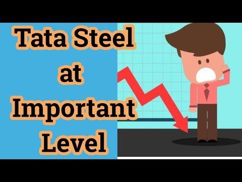 Tata steel at Important Level !!! Tata Steel Chart Analysis !!!↘︎↘︎