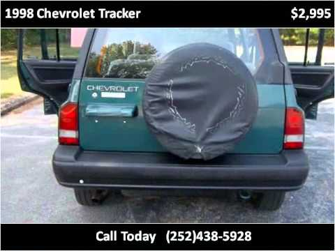jeep chevrolet tracker 1998