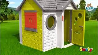 SMOBY 310140 Házikó My House csengővel UV szűrő 24