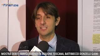 Mostra debiti famiglia Renzi, polemica in Regione Toscana
