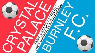 🏴 Crystal Palace Vs Burnley Free Football Prediction 6-29-20 ⚽️ English Premier League Picks