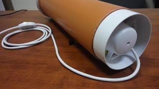 видео Промышленный озонатор (озоновая пушка) ОЗ-А60 (OZ-A60)