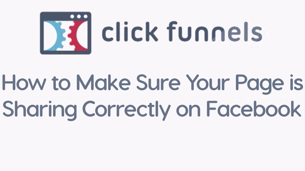 How to Make Sure Your Page is Sharing Correctly on Facebook