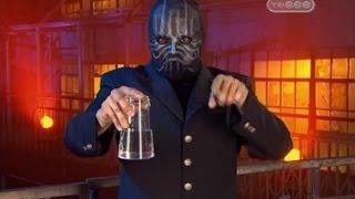 Вода не выливается из стакана - Человек в маске - Тайны великих магов - Разоблачение фокусов