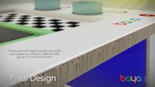 Baya - The Diy Eco-desk For Kids