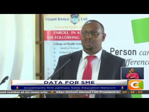 MKU signs deal for SME data training