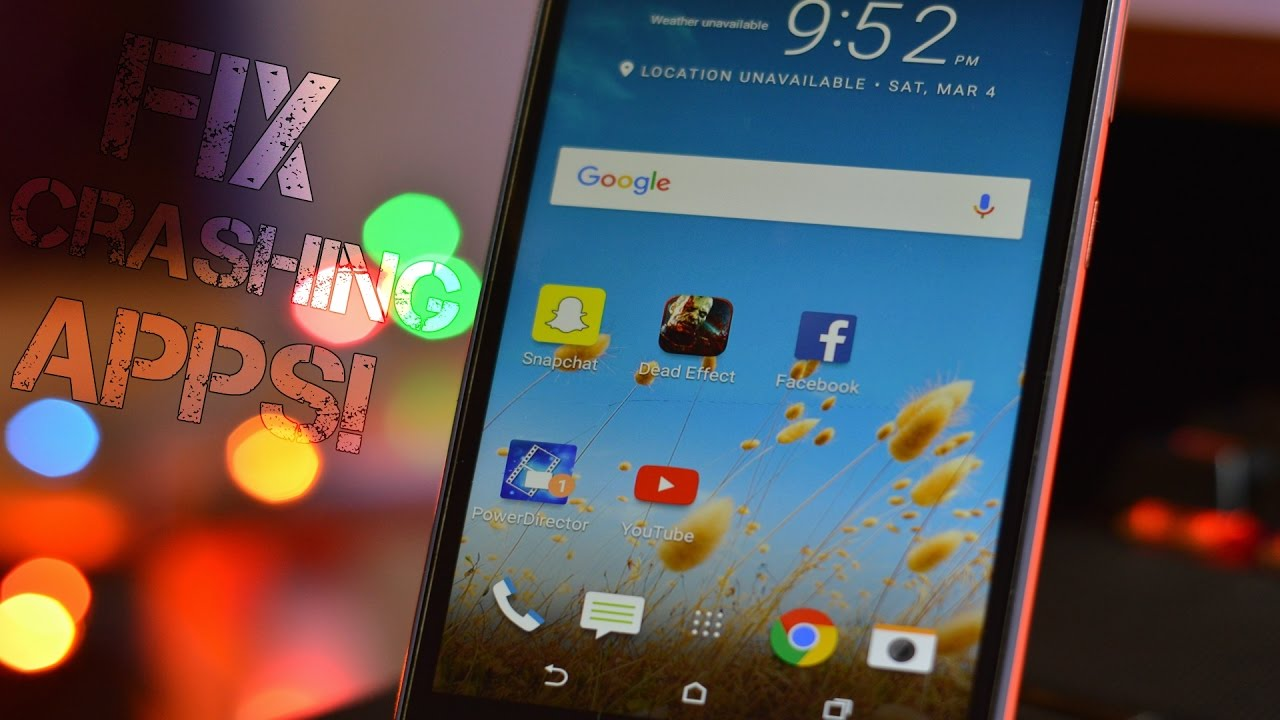 How To Fix Crashing Apps/Games On Any Android Phone! (2019)