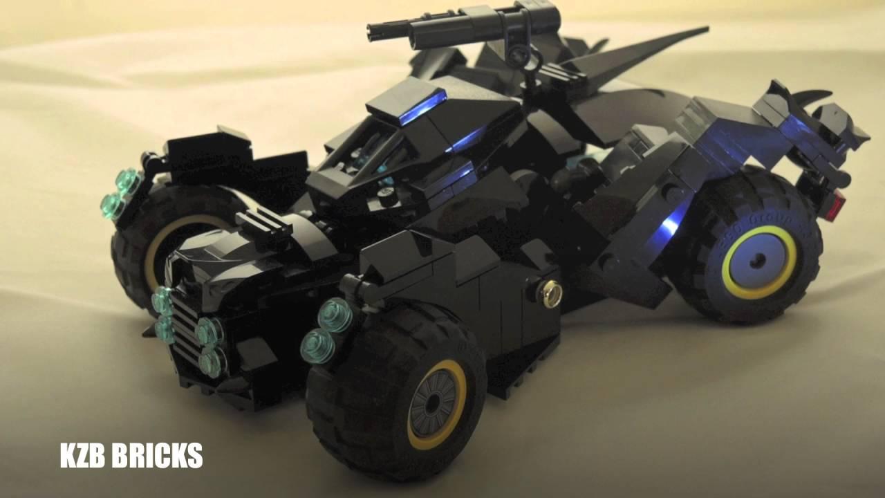 lego batman arkham knight batmobile moc updated version with battle mode custom set youtube. Black Bedroom Furniture Sets. Home Design Ideas