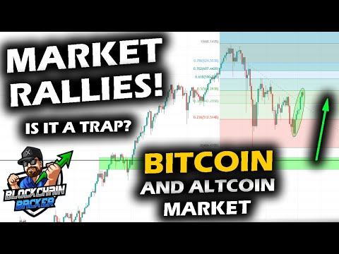 BIG UPSIDE MOVES For The Bitcoin Price Chart And Altcoin Market But Sustainability In Question