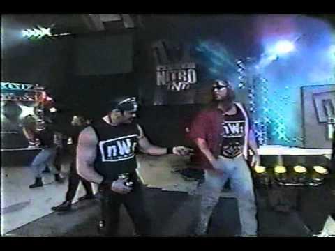 First nWo Monday Nitro Entrance - 12/22/97