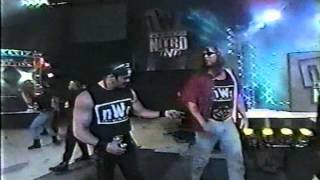 First nWo Monday Nitro Entrance - 12/22/97
